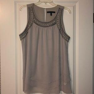 Embellished Sleeveless Blouse
